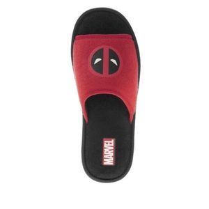 Men's Deadpool Slippers Officially Licensed (NWT)